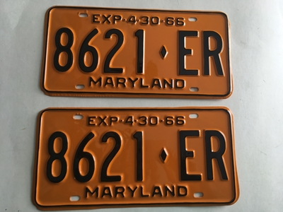 Picture of 1966 Maryland Truck Pair #8621-ER