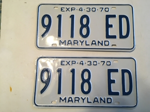 Picture of 1970 Maryland Truck Pair #9118-ED