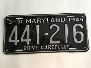 Picture of 1945 Maryland #441-216