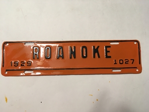 Picture of 1929 Virginia Roanoke Strip