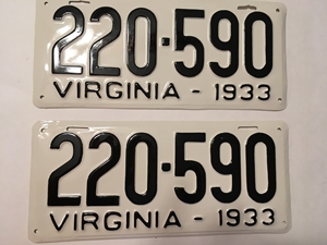 Picture of 1933 Virginia Car Pair #220-590