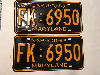 Picture of 1967 Maryland Car Pair #FK-6950
