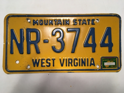 Picture of 1976 West Virginia #NR-3744
