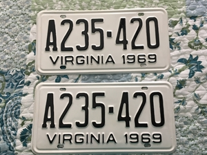 Picture of 1969 Virginia Car Pair #A235-420