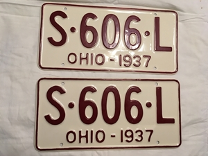 Picture of 1937 Ohio Pair #S-606-L