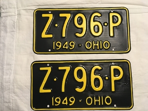Picture of 1949 Ohio (waffle) Pair #Z-796-P