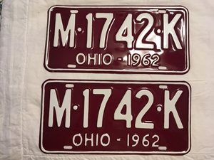 Picture of 1962 Ohio Pair #M-1742-K