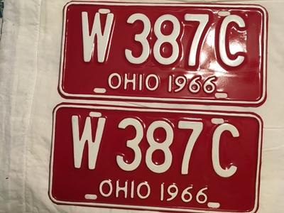 Picture of 1966 Ohio Pair #W-387-C