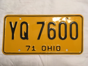 Picture of 1971 Ohio #YQ-7600