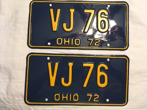 Picture of 1972 Ohio Pair #VJ-76