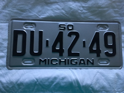 Picture of 1950 Michigan #DU-42-49