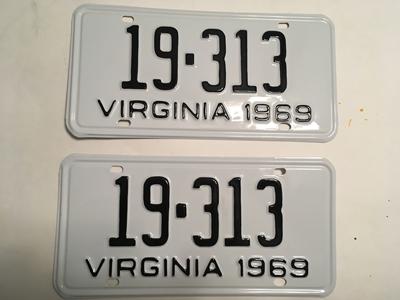 Picture of 1969 Virginia Car Pair #19-313