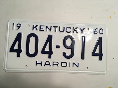 Picture of 1960 Kentucky #404-912