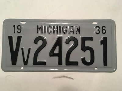 Picture of 1936 Michigan #Vv-24251