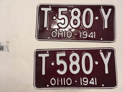 Picture of 1941 Ohio Pair #T-580-Y