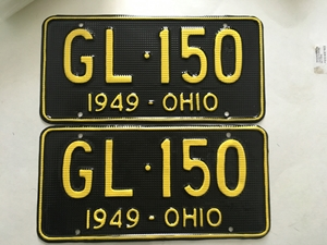 Picture of 1949 Ohio Pair #GL-150