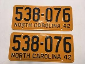 Picture of 1942 North Carolina Pair #530-076