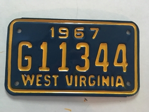 Picture of 1967 West Virginia #G11344