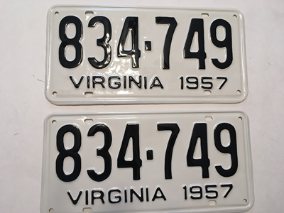 Picture of 1957 Virginia Car Pair #834-749