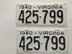 Picture of 1940 Virginia Car Pair #425-799
