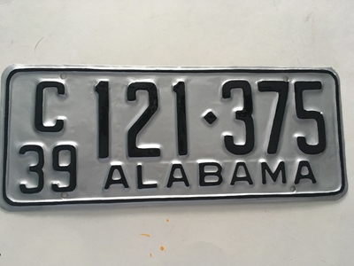 Picture of 1939 Alabama #121-375