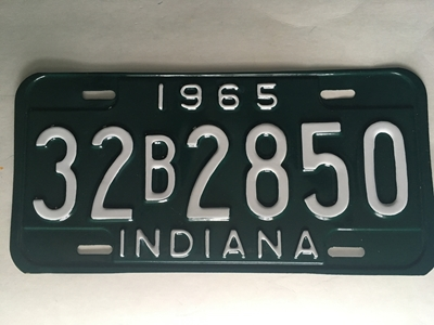 Picture of 1965 Indiana #32B2850
