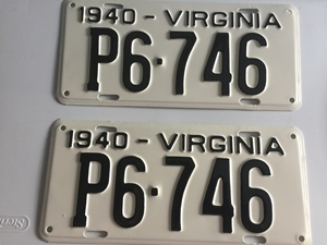 Picture of 1940 Virginia Pair #P6-746