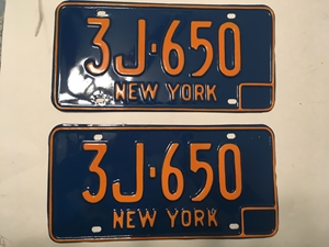 Picture of 1966-73 New York Pair #3J-650