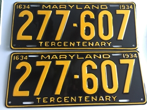 Picture of 1934 Maryland Car Pair #277-607
