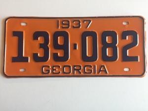 Picture of 1937 Georgia Car #139-082