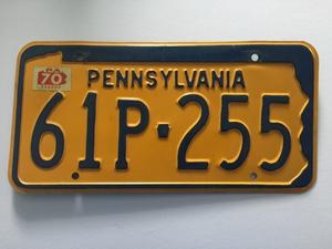 Picture of 1965-70 Pennsylvania #61P-255