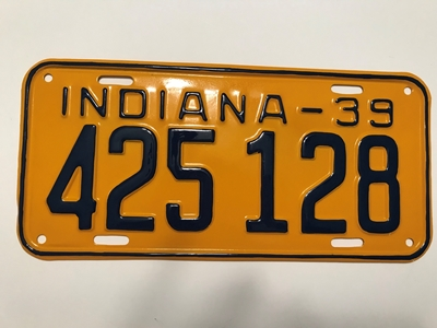 Picture of 1939 Indiana #425-128