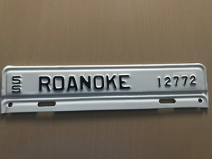 Picture of 1955 Virginia #12772 Roanoke Strip