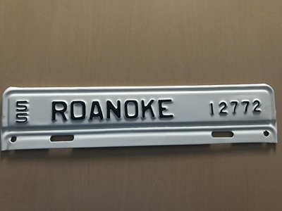 Picture of 1955 Virginia #12772 Roanoke Strip