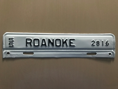 Picture of 1955 Virginia #2816 Roanoke Strip