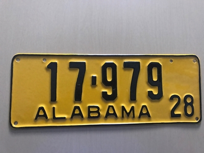 Picture of 1928 Alabama #17-979