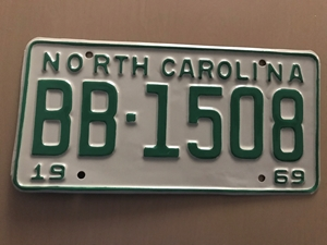 Picture of 1969 North Carolina Car #BB1508