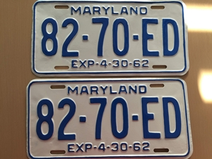 Picture of 1962 Maryland Truck Pair #82-70-ED