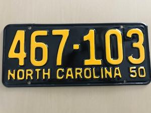 Picture of 1950 North Carolina #467-103
