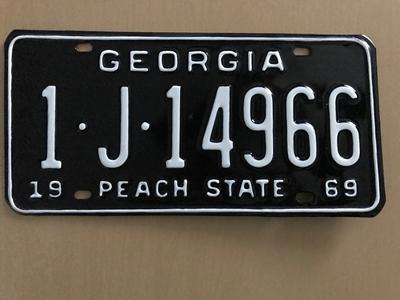 Picture of 1969 Georgia #1-J-14966