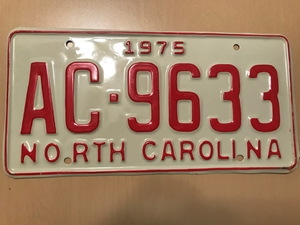 Picture of 1975 North Carolina #AC-9633