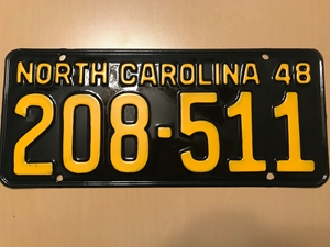 Picture of 1948 North Carolina #208-511