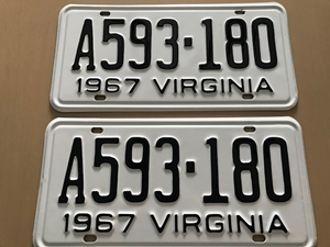 Picture of 1967 Virginia Car Pair A593-180