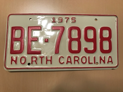 Picture of 1975 North Carolina #BE-7898