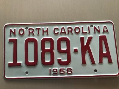 Picture of 1968 North Carolina Truck #1089-KA