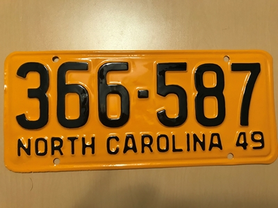 Picture of 1949 North Carolina #366-587