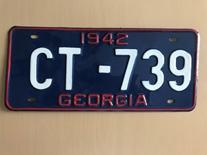 Picture of 1942 Georgia Car #CT-739