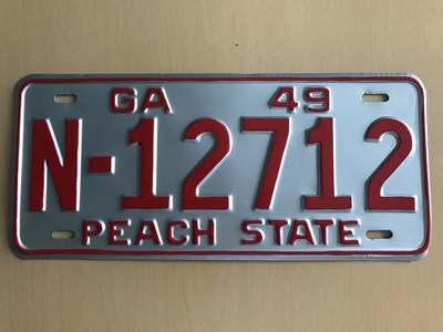 Picture of 1949 Georgia Car #N-12712