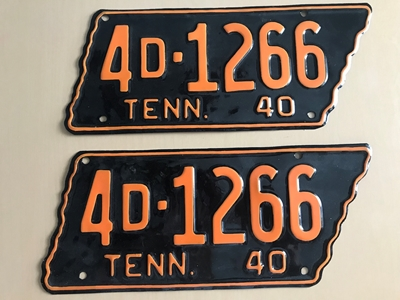 Picture of 1940 Tennessee Car Pair #4D-1266