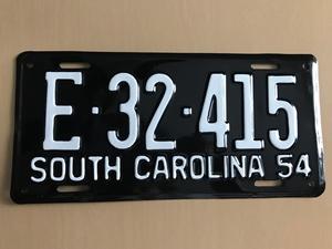 Picture of 1954 South Carolina #E32-415